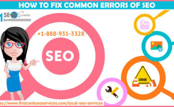 How to fix Common Errors of SEO