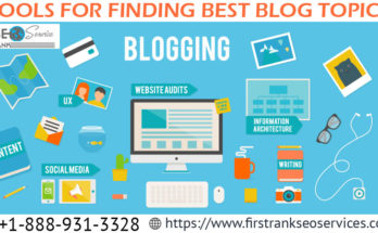 Tools for Finding Best Blog Topics