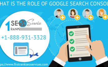 What is the role of Google search console