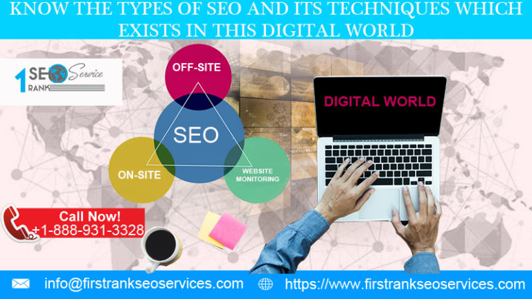 Types of seo and its techniques