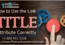 Link Title Attribute