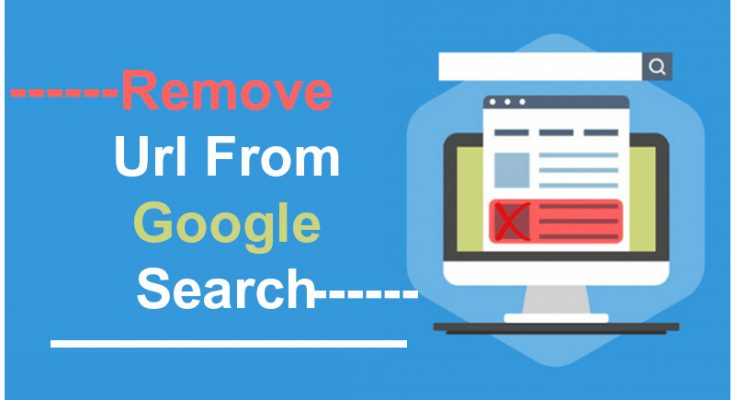 remove url from google search