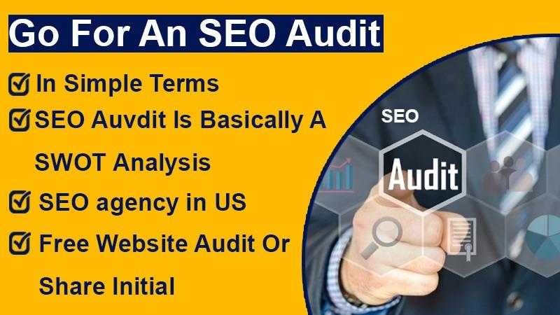 Go for an SEO audit