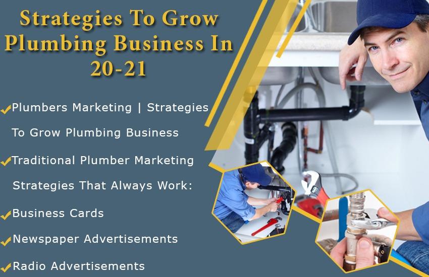 Strategies To Grow Plumbing Business in 20-21