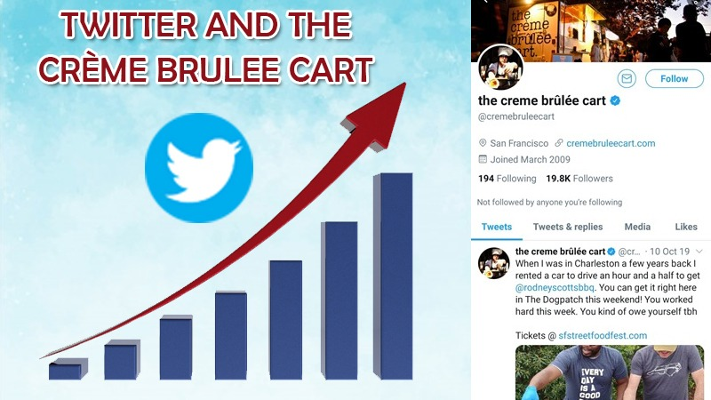 Twitter And The Crème Brulee Cart