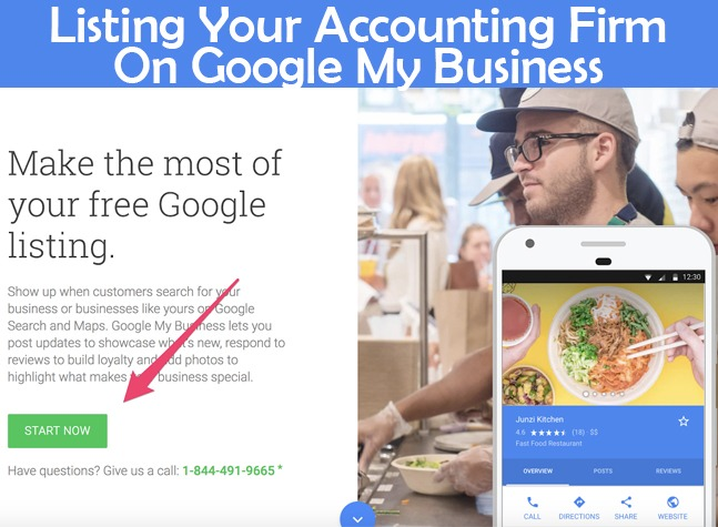 Listing your accounting firm on Google My Business