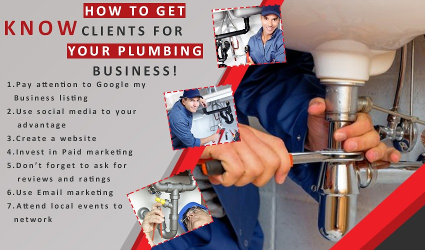 Know how to get clients for your plumbing business