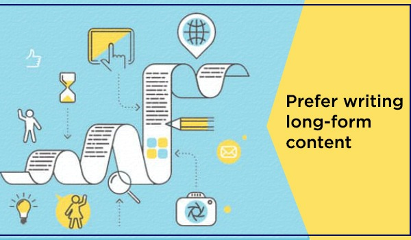 Prefer writing long-form content
