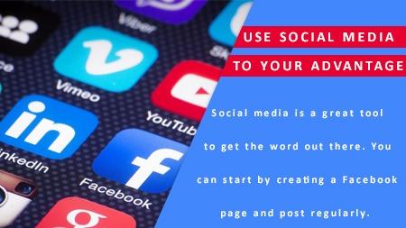 Use social media to your advantage