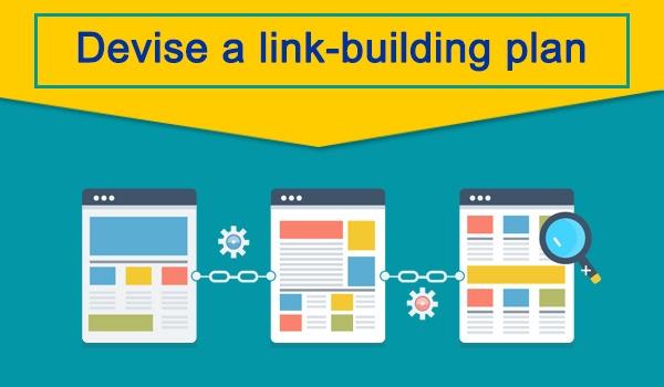 Devise a link-building plan