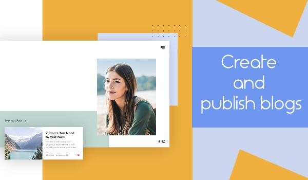 Create And Publish Blogs