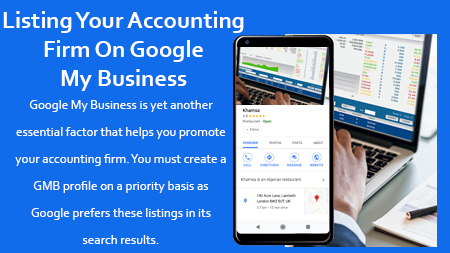 Listing Your Accounting Firm On Google My Business (GMB)