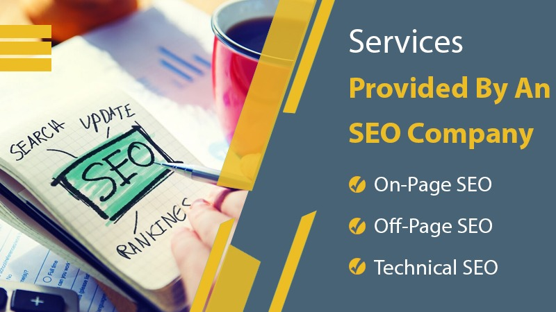 services provided by seo company