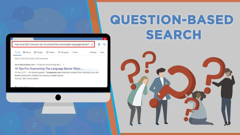 Question-based search