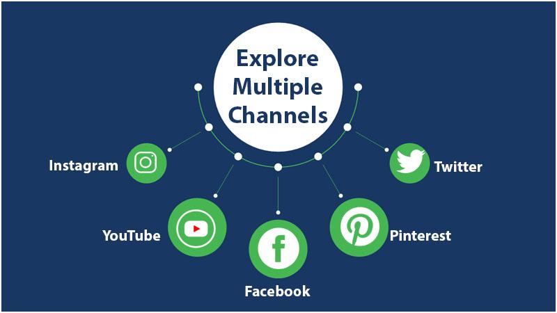 Explore multiple channels
