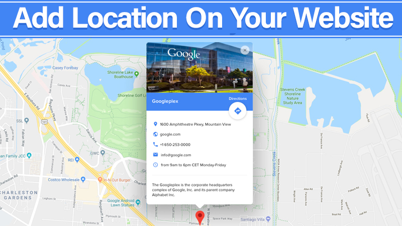 Add Location On Website - Local Search Marketing