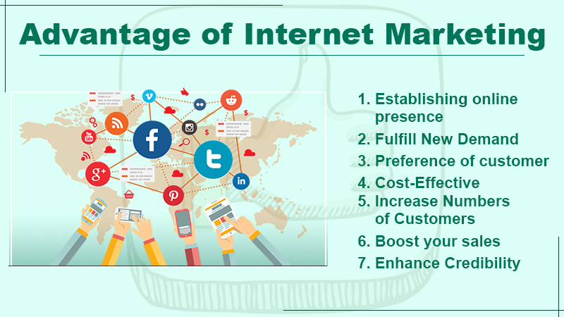 Advantage of Internet Marketing