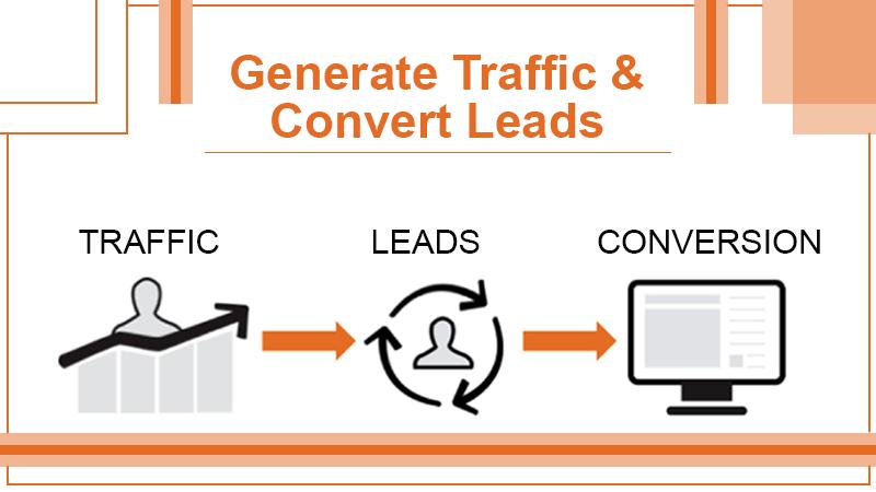 Generate Traffic & Convert Leads