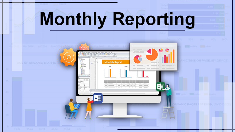 Monthly Reporting - Organic SEO Services
