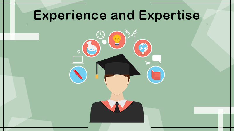 Experience and Expertise
